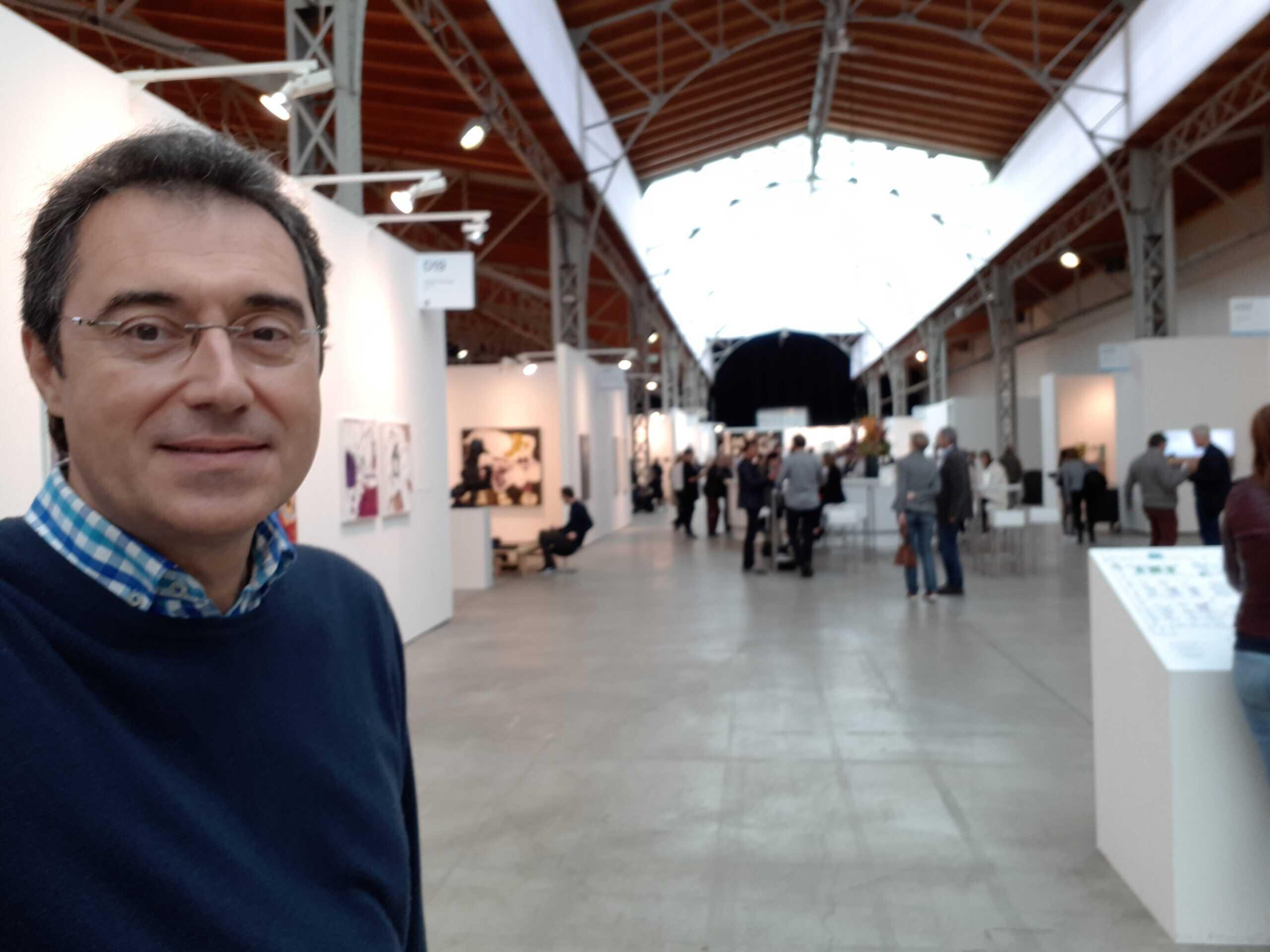 Visitant Viennacontemporary Art Fair 2017
