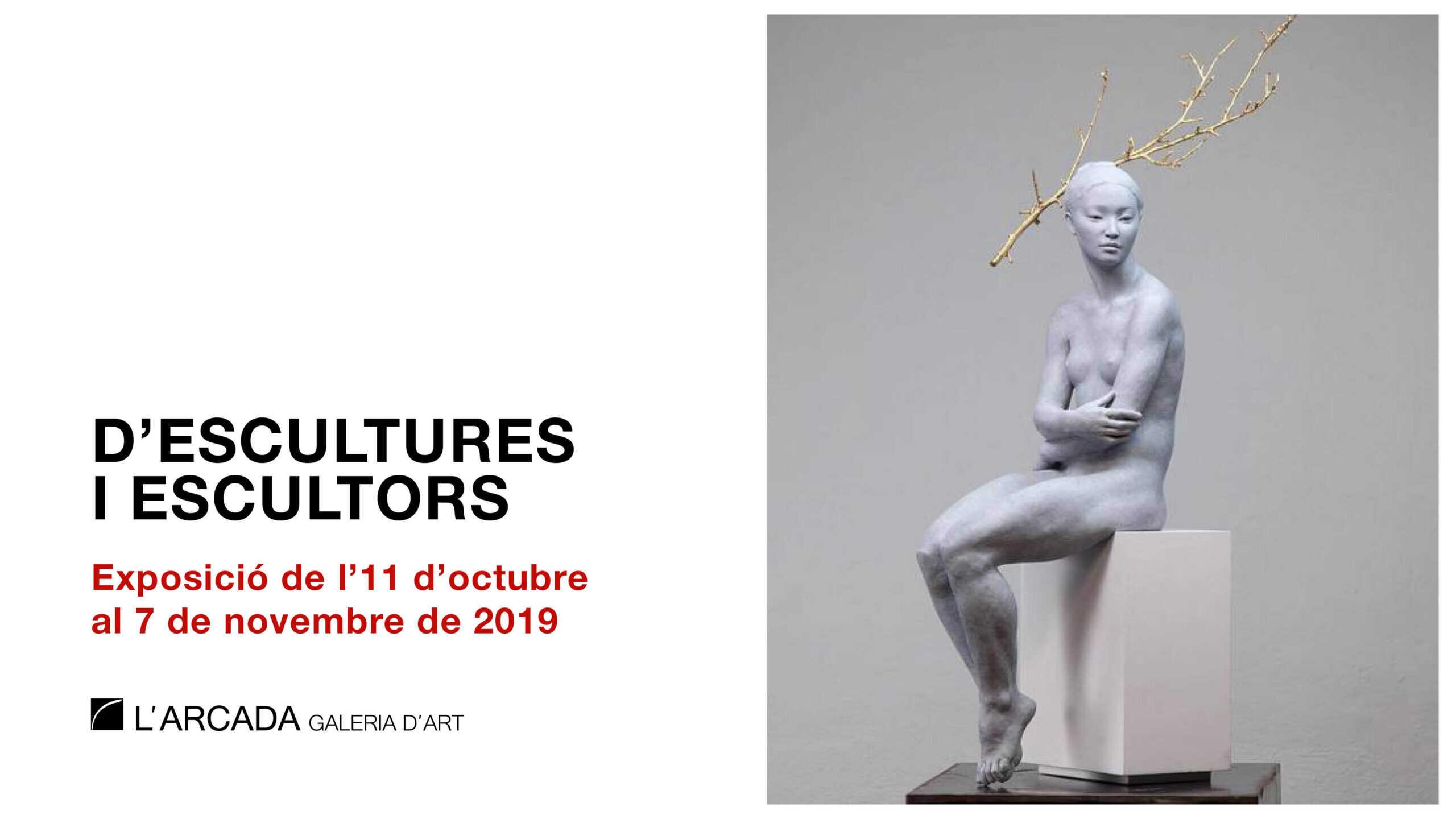 De esculturas y escultores. Exposición en Blanes.