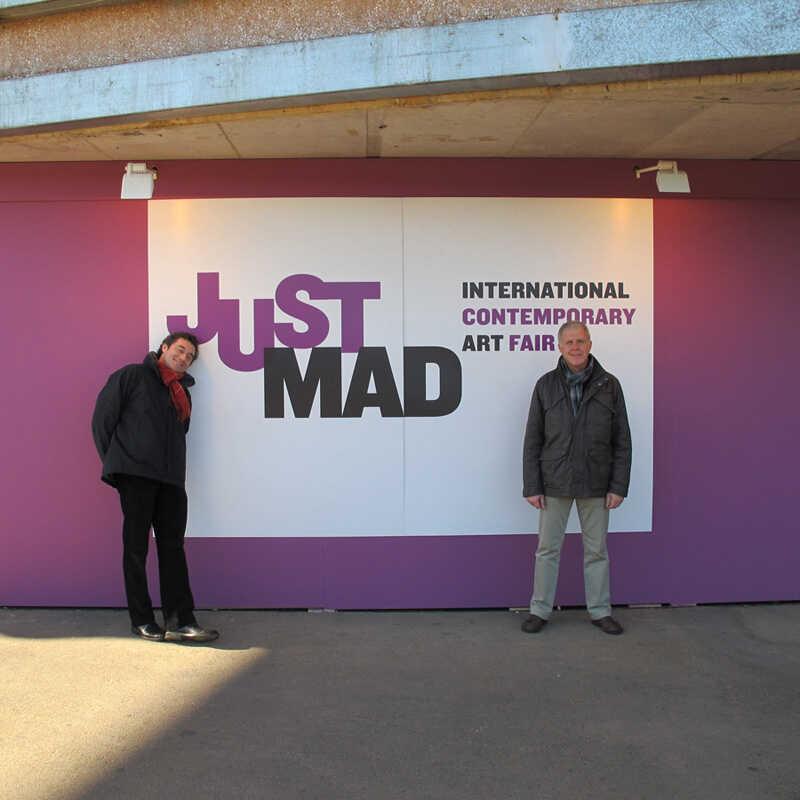 Visita a les Fires d'art ARCO, Art Madrid, Just Mad y Flecha