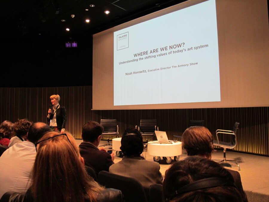 Talking Galleries 2013, dies 11 i 12 de novembre de 2013